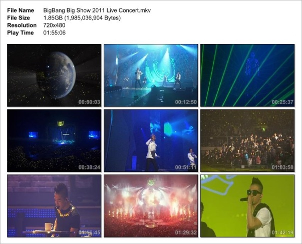 BigBang Big Show 2011 Live Concert