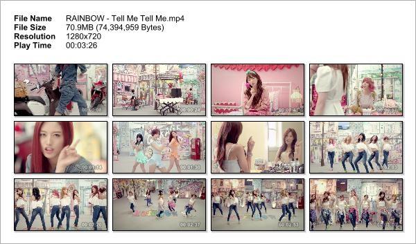 RAINBOW - Tell Me Tell Me_Snapshot