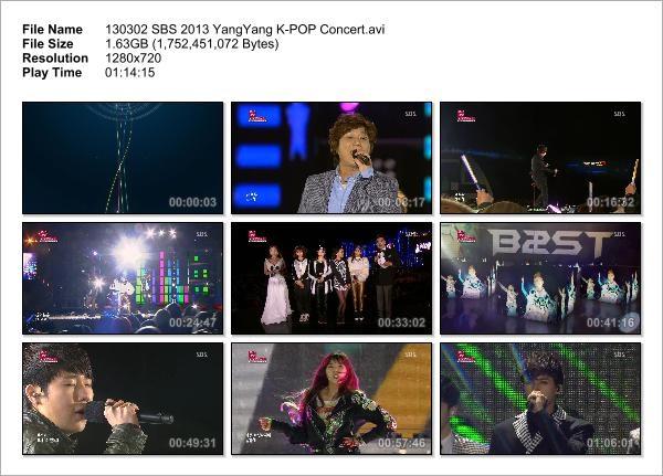 130302 SBS 2013 YangYang K-POP Concert_Snapshot
