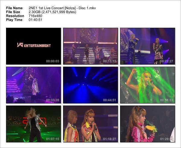 2NE1 1st Live Concert [Nolza] - Disc 1_Snapshot