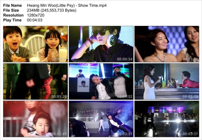 Hwang Min Woo(Little Psy) - Show Time_Snapshot