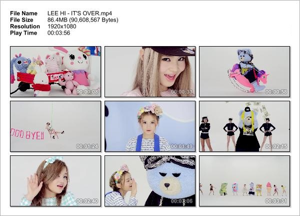 LEE HI - IT'S OVER_Snapshot