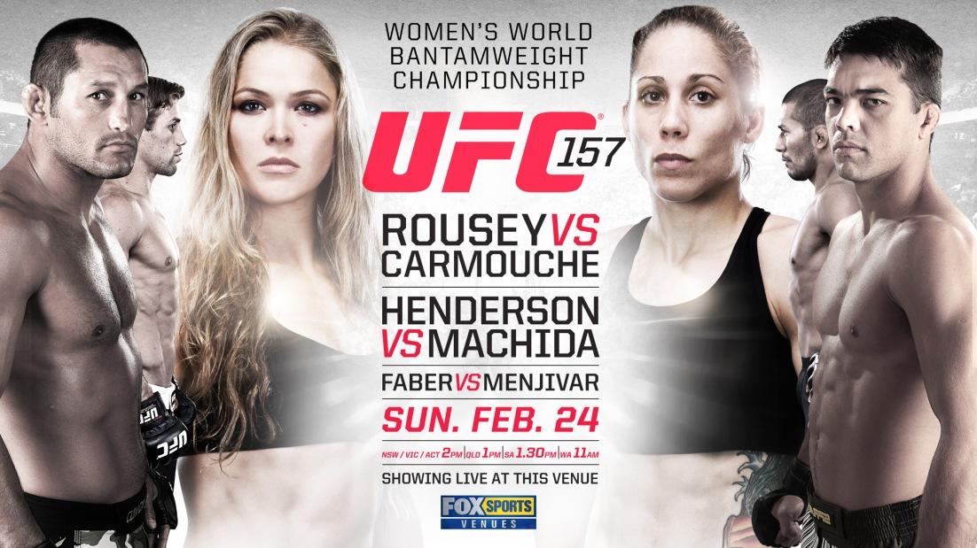 UFC 157 FOXSPORT