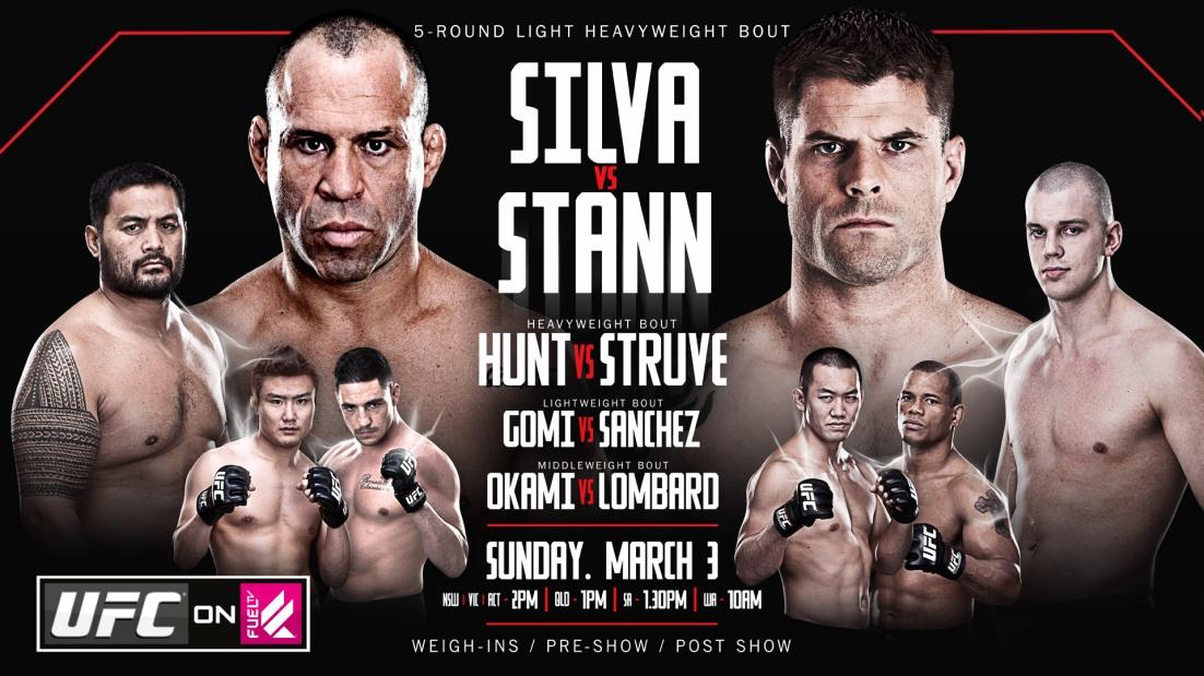 UFC FUEL 8 FOXSPORTS