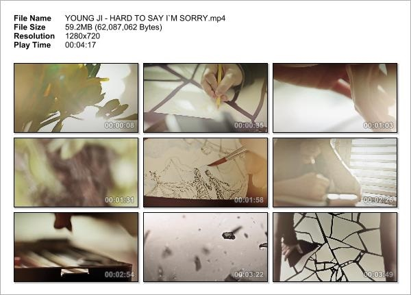 YOUNG JI - HARD TO SAY I`M SORRY_Snapshot