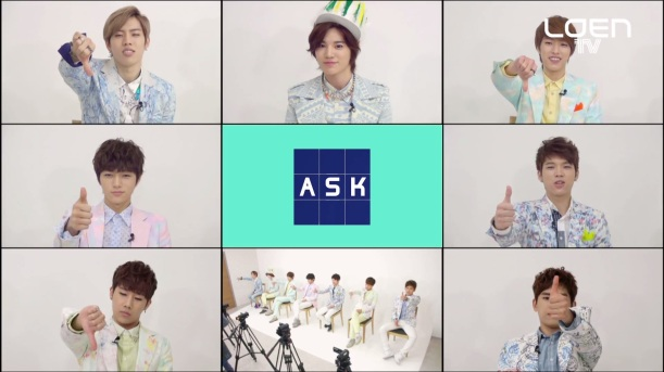 ASK IN A BOX  INFINITE(인피니트)
