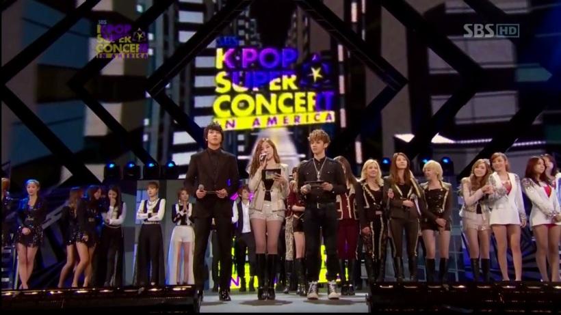 SBS K-POP SUPER CONCERT IN AMERICA 121223 [ LIVE ]