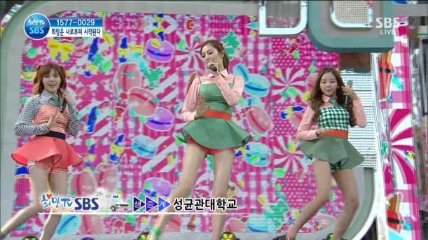 130511 SBS Hope TV Orange Caramel